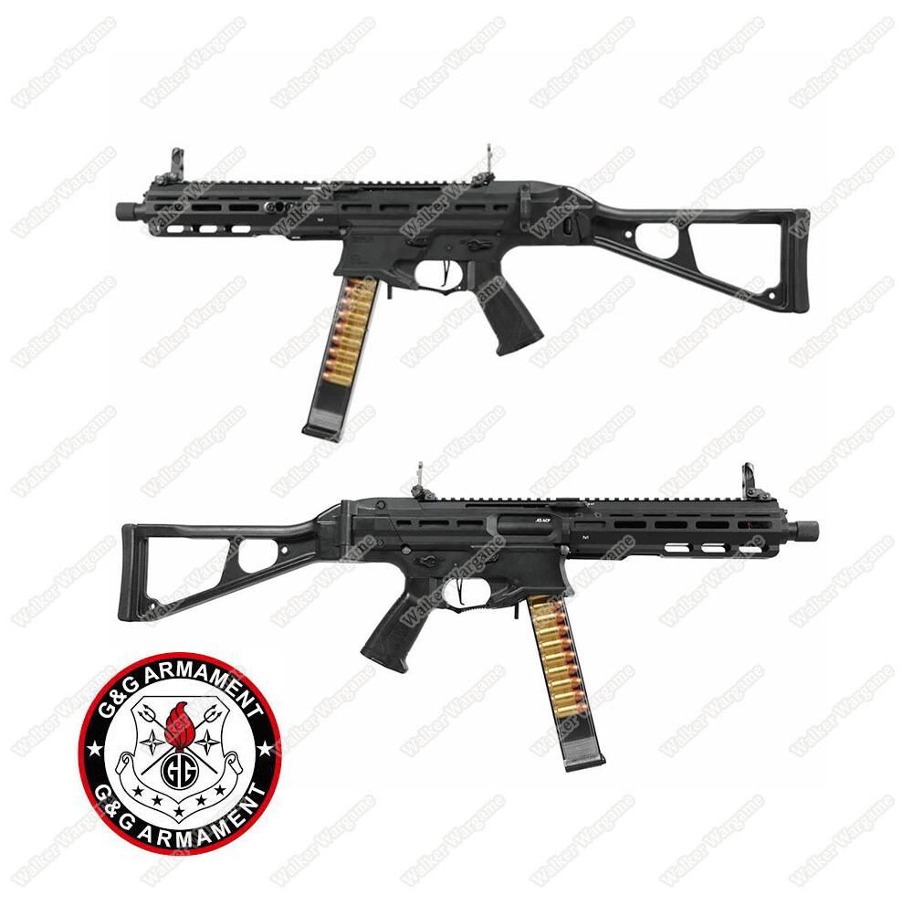 G&G PCC45 MLOK UMP CQB AEG Build in Mosfet ETU