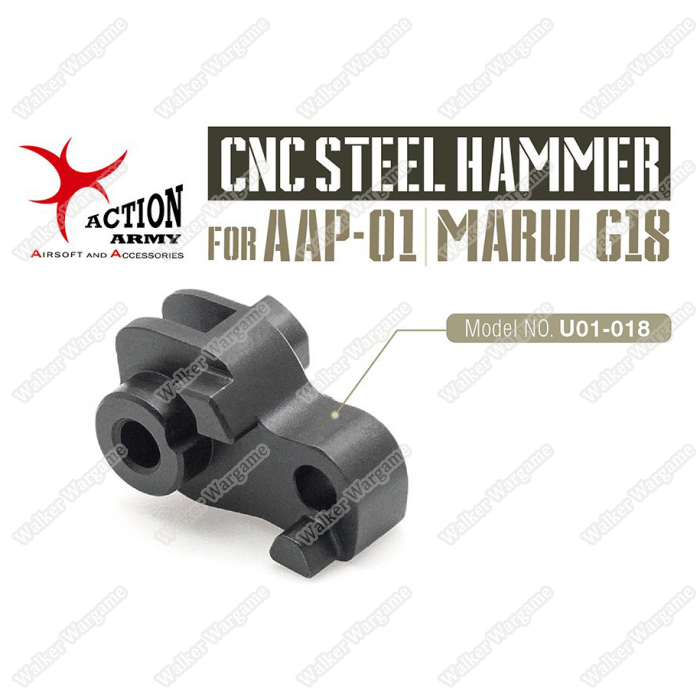 Actiom Army AAC AAP01 Pistol CNC Steel Hammer For Glock