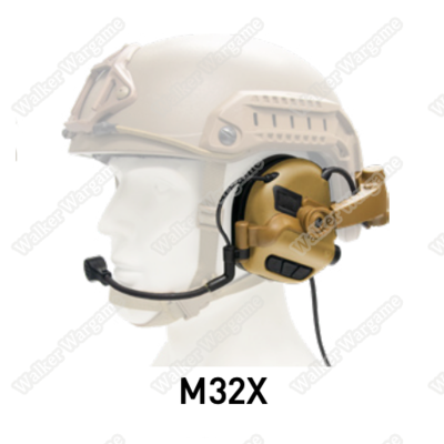 EARMOR M32X Mark3 Military Spec Electronic Communication Hearing Protector
