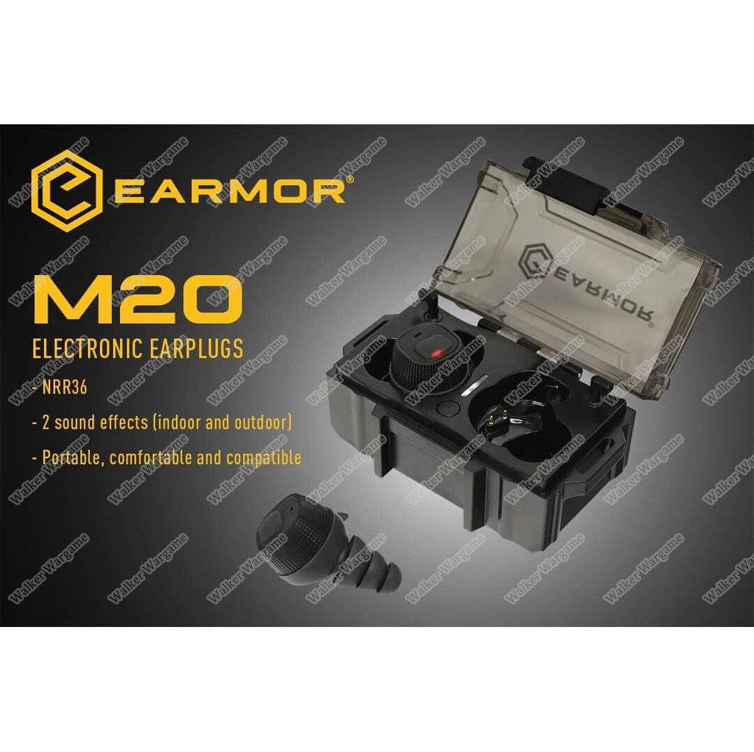 Earmor M20 Electronic Earplugs