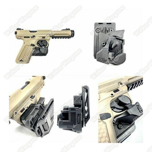 CTM Speed Draw Holster For Glock AAP01 Pistol