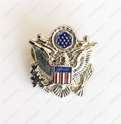 US Army Officer Badge Insignia - Metal