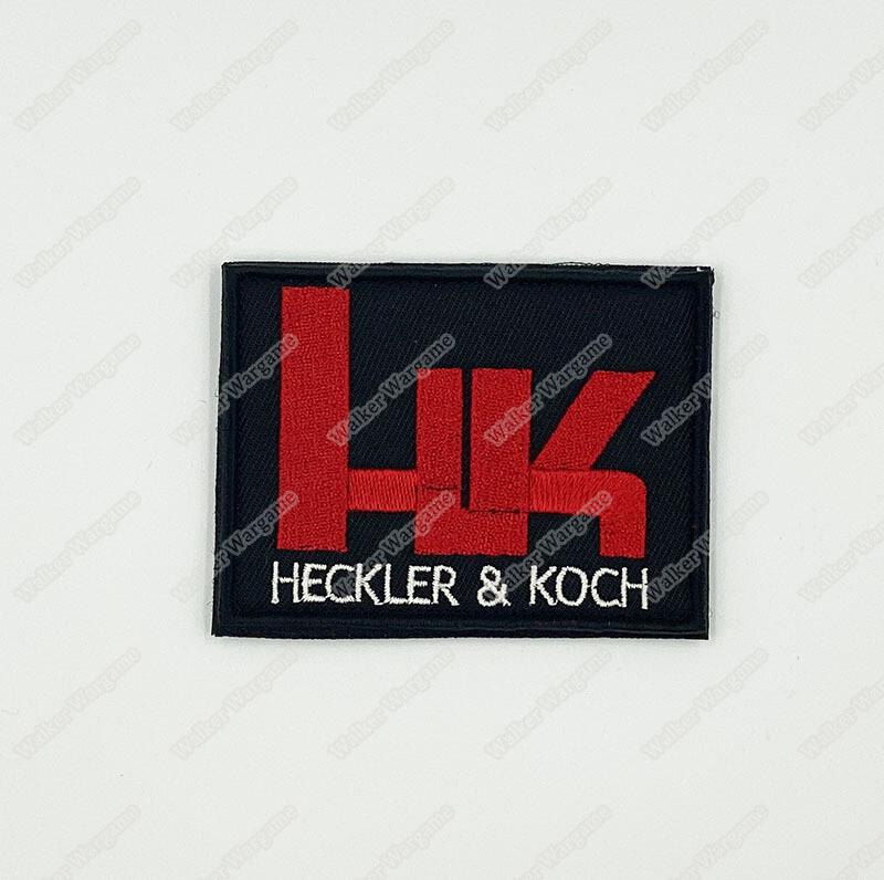 WG137 HK Logo Heckler & Koch Patch Velcro - Full Color
