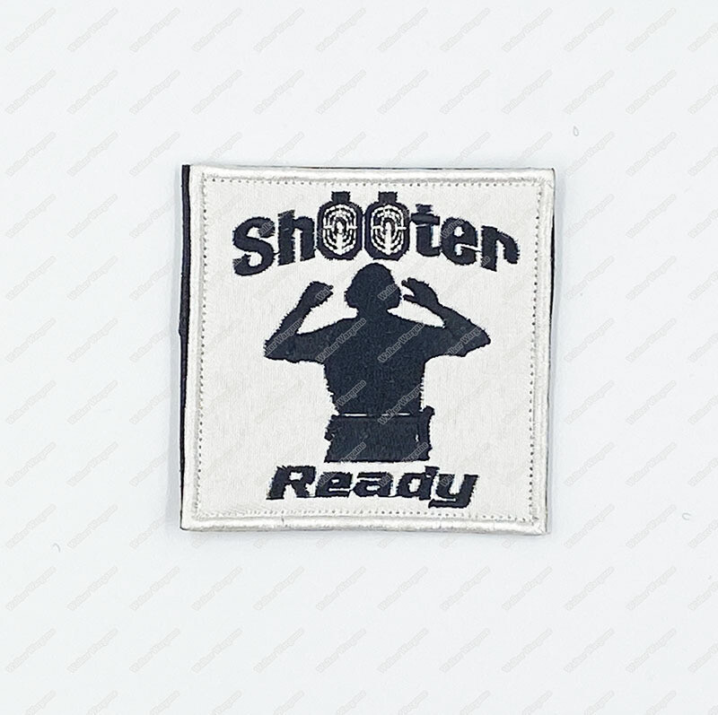 WG140 Shooter Ready Patch Velcro - Full Color