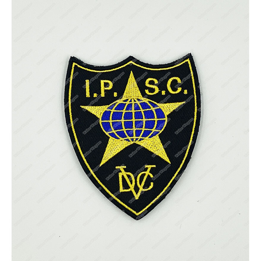WG139 IPSC International Practical Shooting Confederation Patch Velcro - Full Color