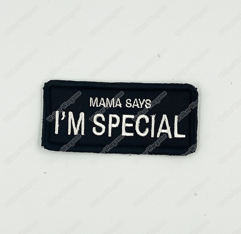 WG141 MAMA Says I am Special Chapter Morale Patch Velcro - Full Color