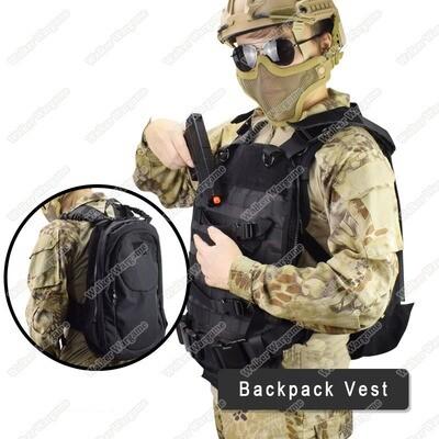 WST Vest BackPack Quick Action From Bag To Vest