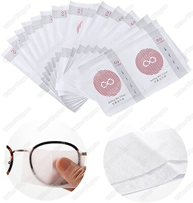 Anti Fog Warp Disposable Wet Tissue