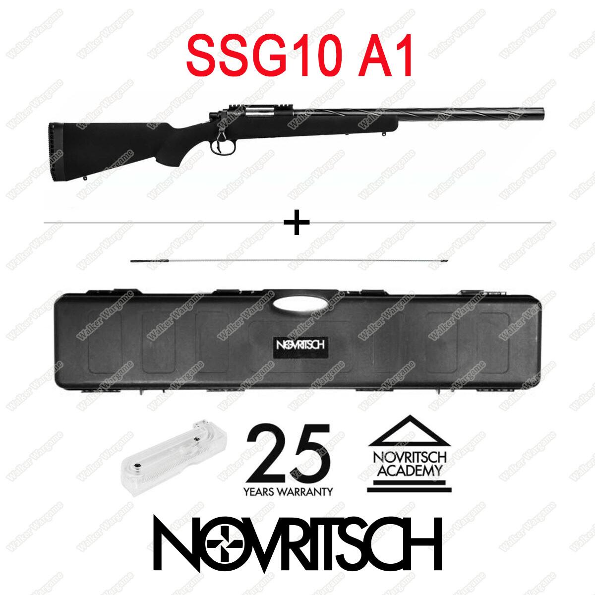 Novritsch SSG10 A1 Airsoft Sniper 2.2Joules  486fps M150 Spring