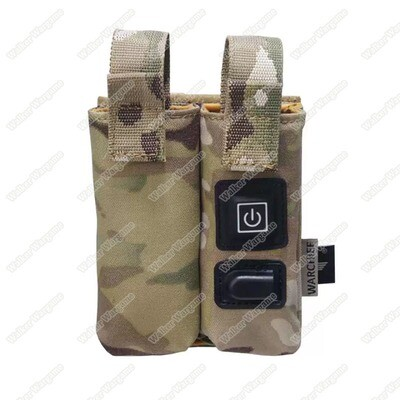 Warchief Gas Mag Warmer Preheat Pouch - Double Pistol Mag Pouch