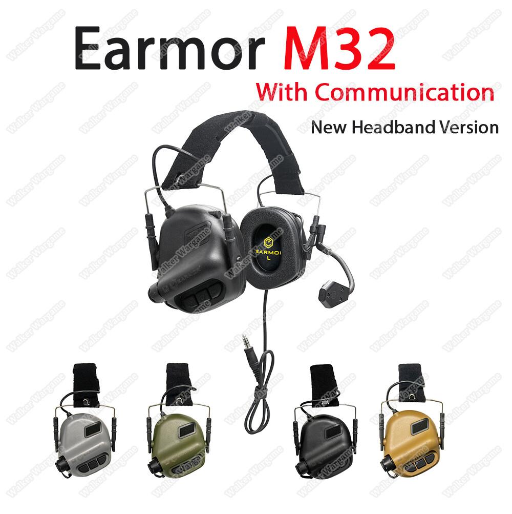 EARMOR M32 MOD3 Electronic Communication Hearing Protector