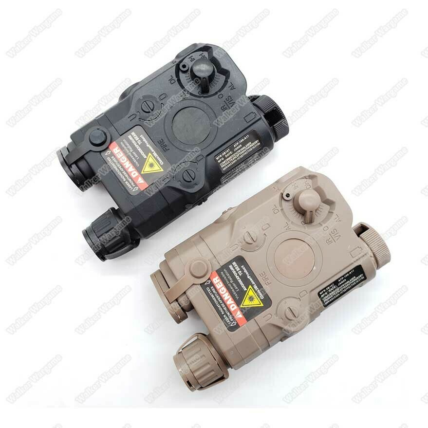 Tactical AN / PEQ-15 Style Battery Case Box With RIS Mount