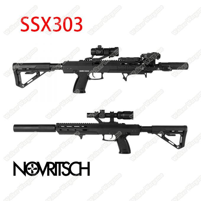 Novritsch SSX303 Stealth Gas Rifle Green Gas