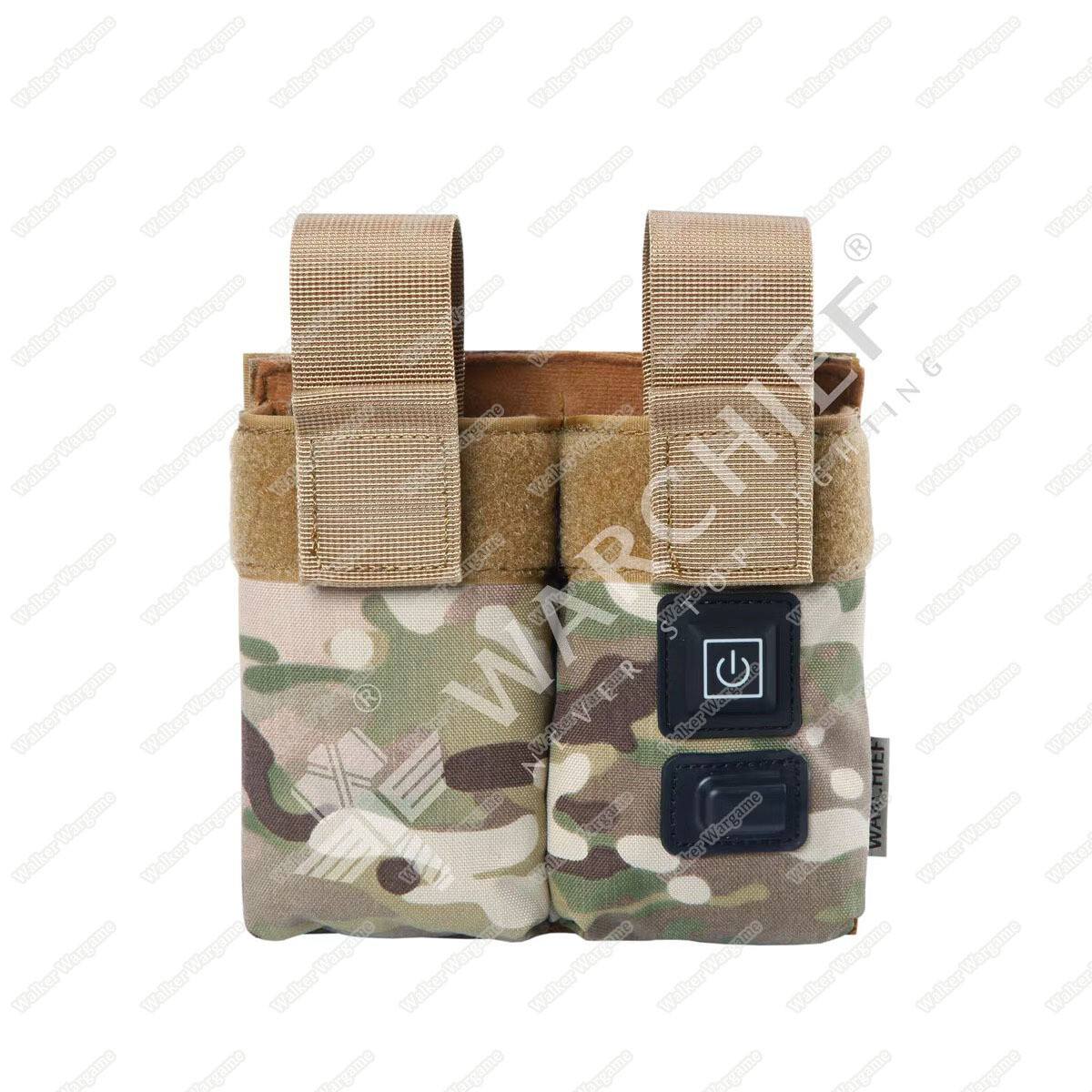 Warchief Gas Mag Warmer Preheat Pouch - Double Rifle M4 Mag Pouch