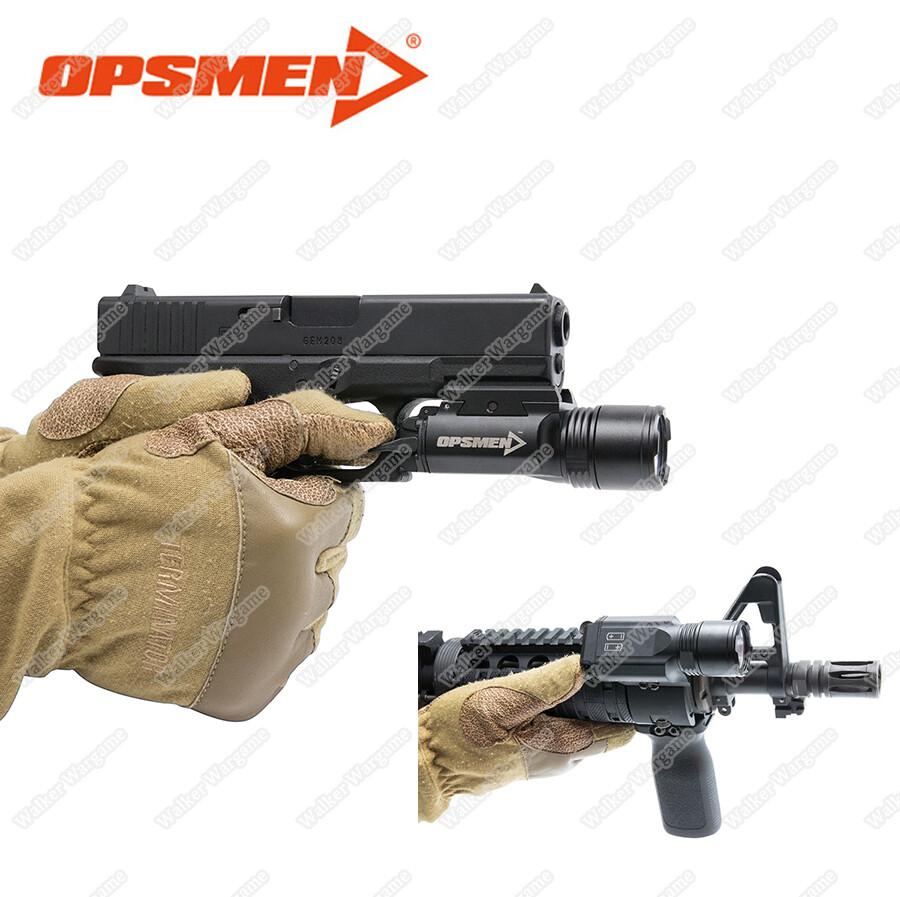OPSMEN Fast 401 Ultra High Output Pistol Rifle FlashLight  (800 LUMEN)
