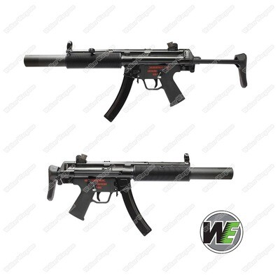 WE Tech MP5 SD3 GBB Apache Submachine Gun Green Gas Blow Back