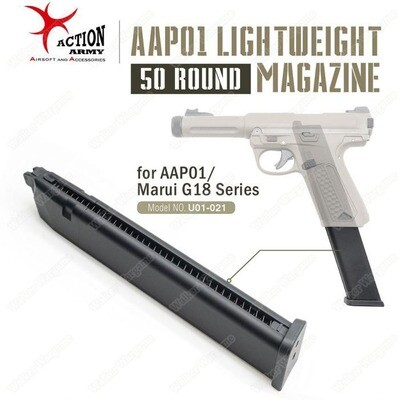 Action Army Light Weight Green Gas Mag For AAP01 Pistol
