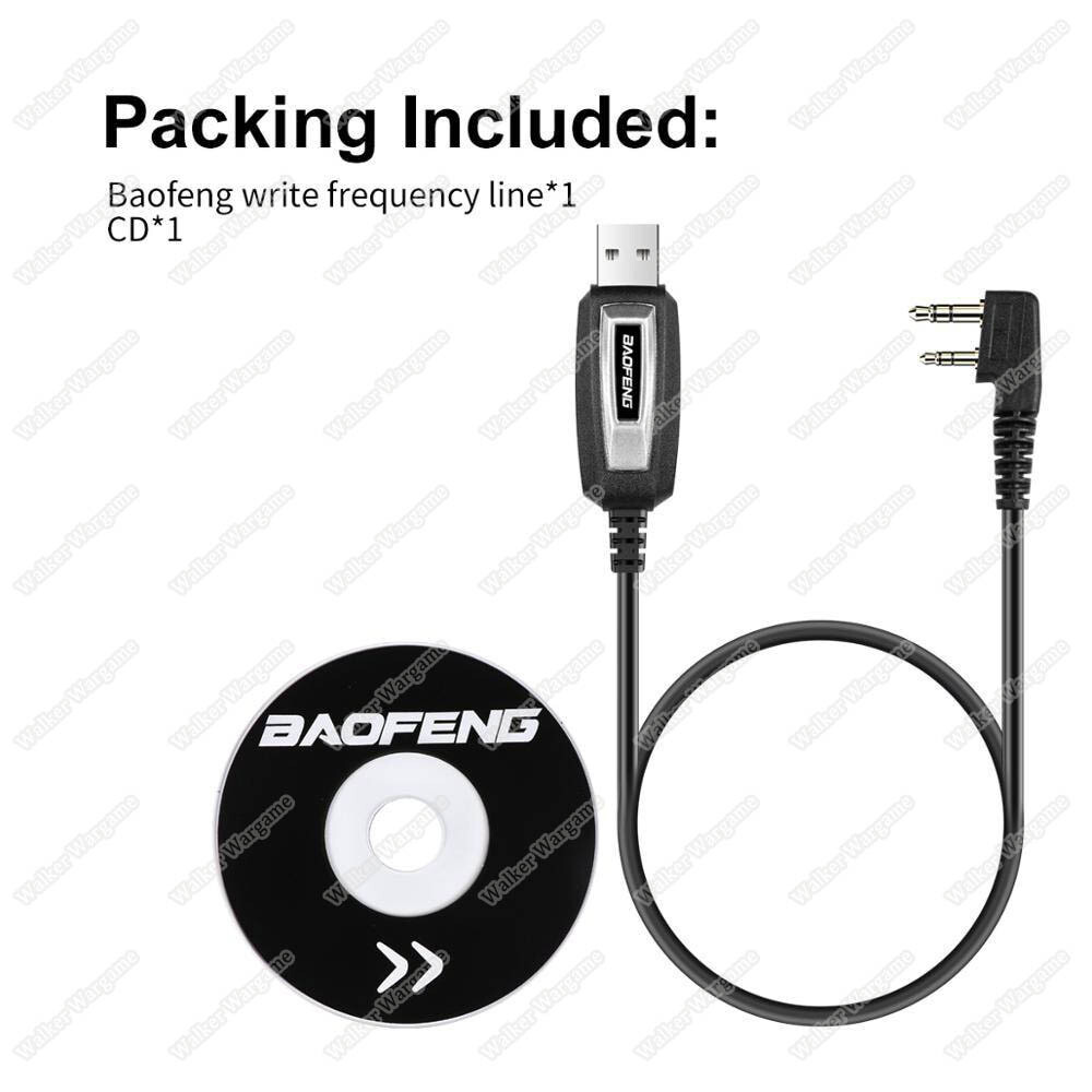 Baofeng Radio Progaramming Cable With CD