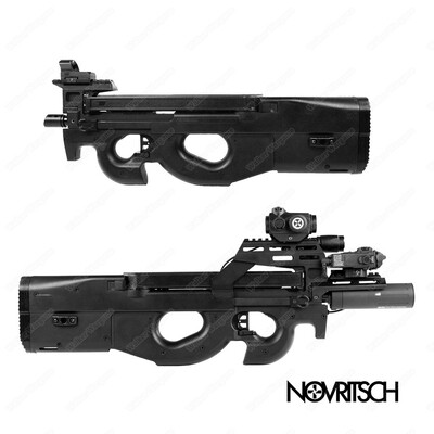 NOVRITSCH SSR90 P90 Electric SMG Airsoft Rifle