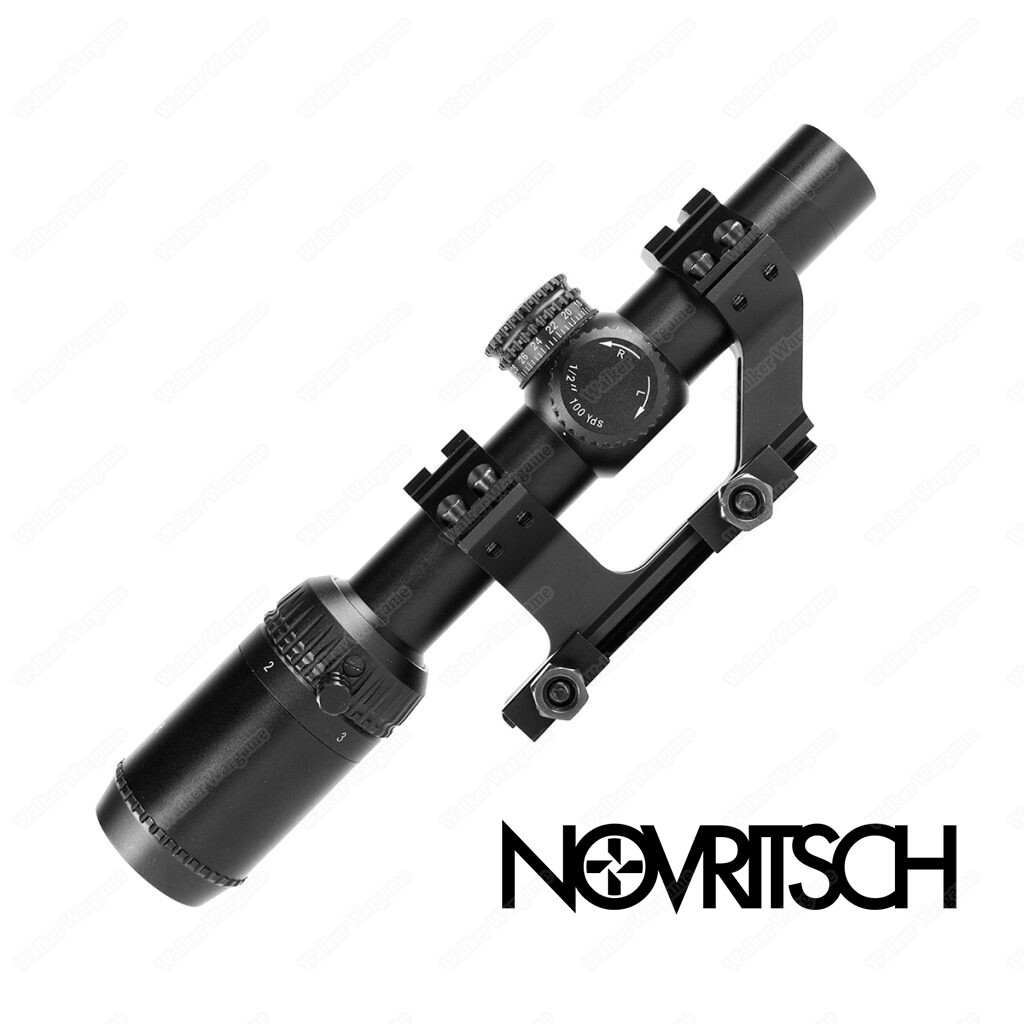 Novritsch 1-4x Variable Scope With Mount