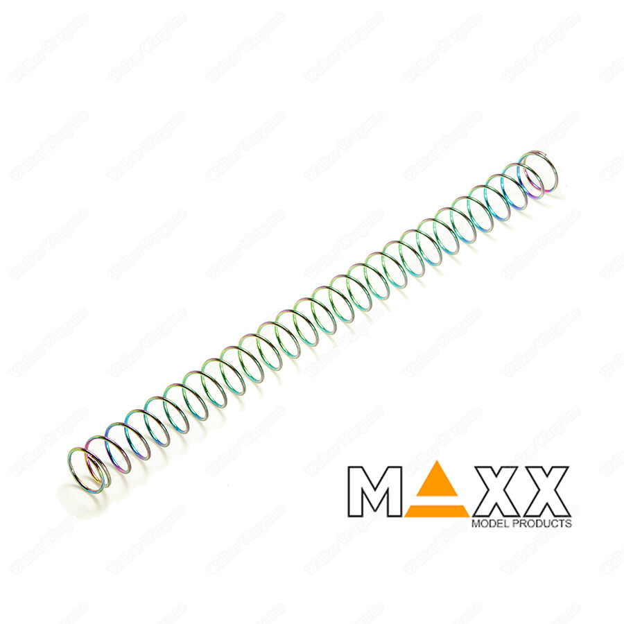 Maxx Enhanced Steel Recoil Spring 150% For GBB