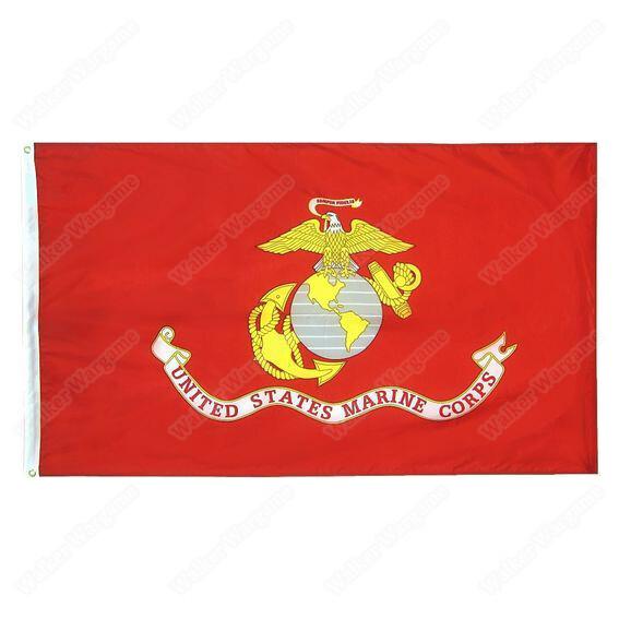 USMC Flag 90x150cm US Marine