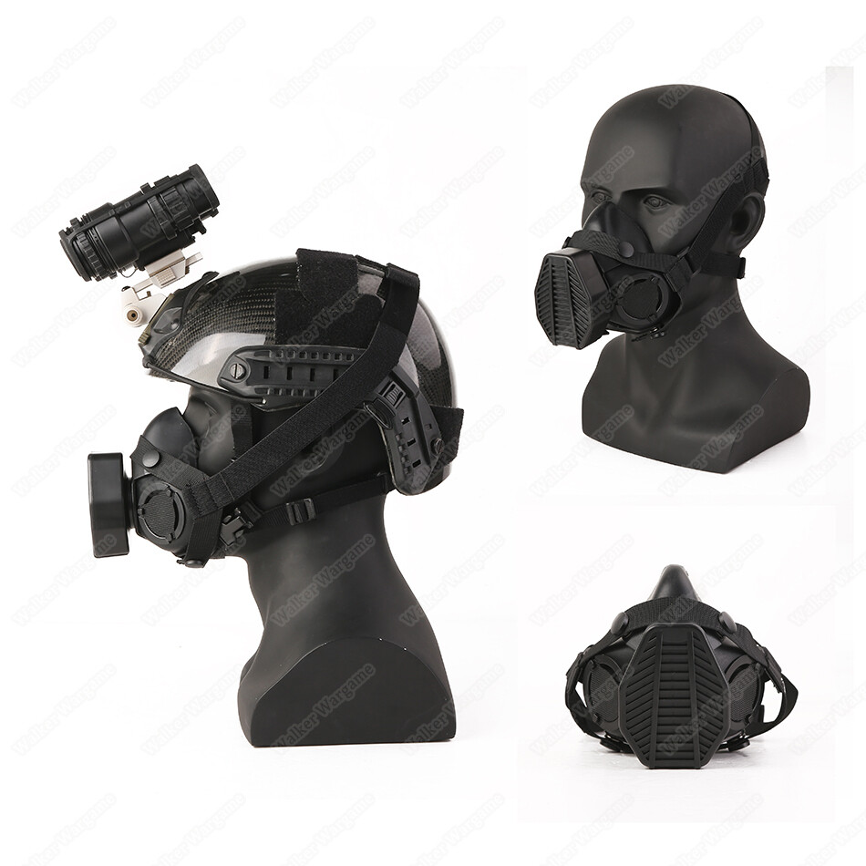 Special Force Tactical Respirator Mask With One Filter