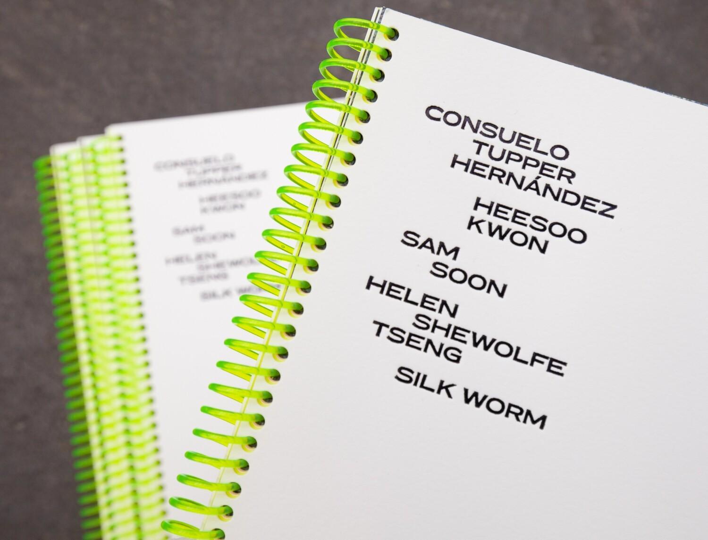 Consuelo Tupper Hernández / Heesoo Kwon / Helen Shewolfe Tseng / Sam Soon / Silk Worm