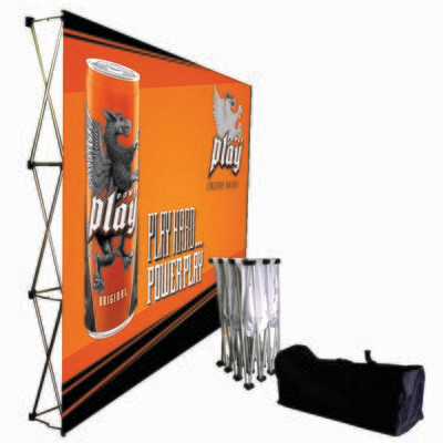 Banner Wall 3000mm(W) x 2250mm(H)