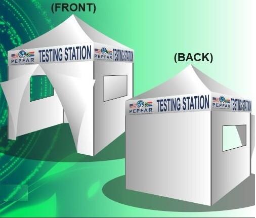 TESTING OR ISOLATION GAZEBO 2M