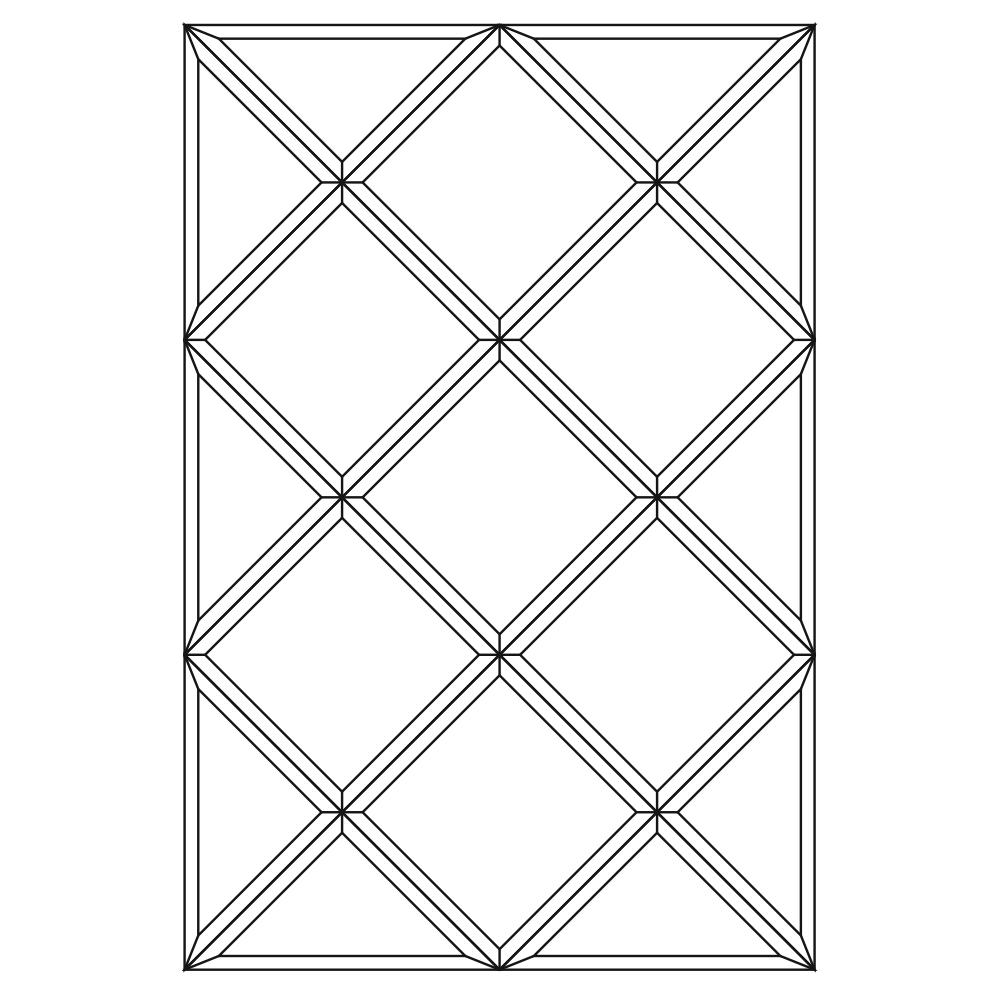 Зеркальное панно 1274 x 850 мм