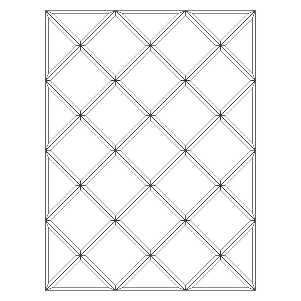 Зеркальное панно 1699 x 1274 мм
