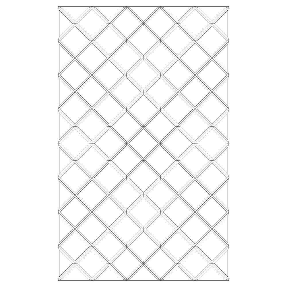 Зеркальное панно 1702 x 1064 мм