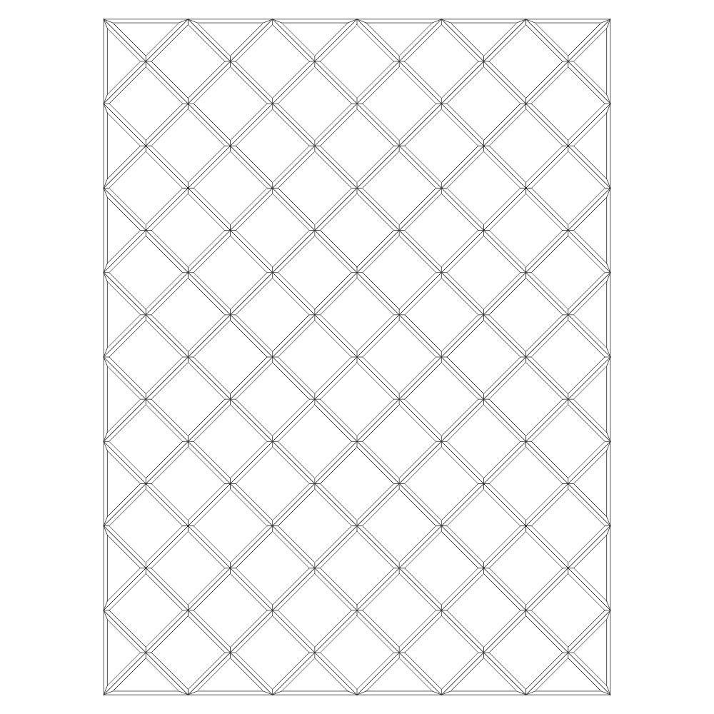Зеркальное панно 1702 x 1277 мм