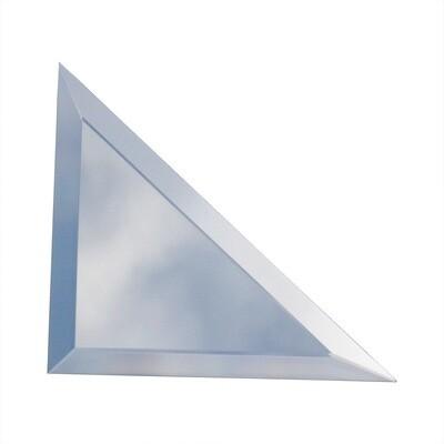 Зеркальная плитка 176х176 мм, треугольная
