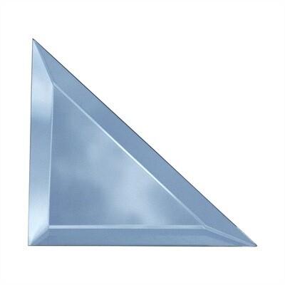 Зеркальная плитка 141х141 мм, треугольная