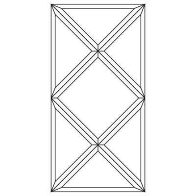 Зеркальное панно 850 x 424 мм