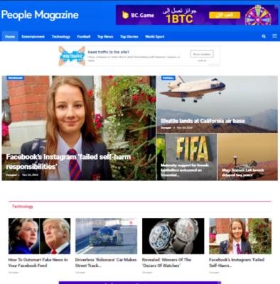 Complete Ready Established Blog Website