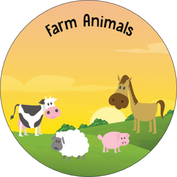 Once Off Box Theme: Farm Animals (5-12 Months Only)