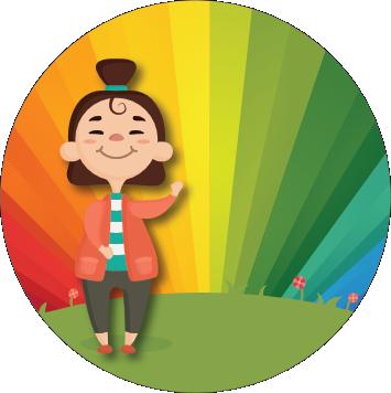 Once Off Box Theme: Rainbows