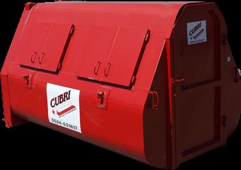 Dichte 9m3 Container voor C-hout