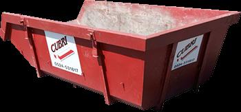 Open 6m3 Container voor Puin