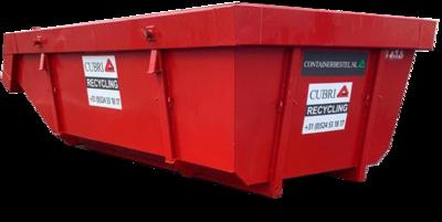 Open 6m3 Container voor Groenafval
