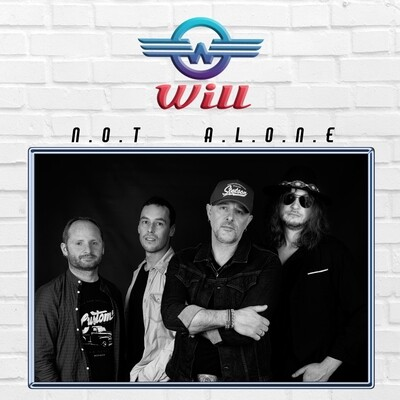 """Will - """"Not Alone"""" - LP 11 titres - CD"""
