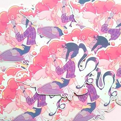 Bubbline sticker