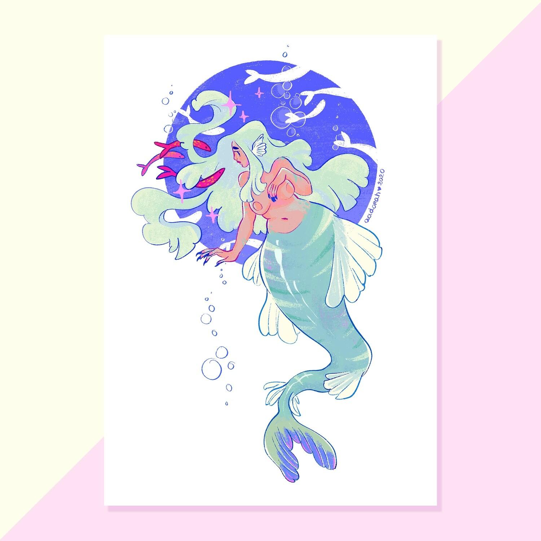 Print - Mermaid
