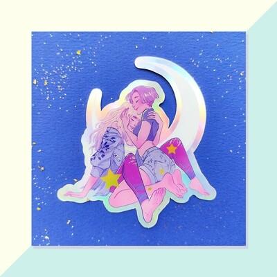 Sticker Holo - Lovers