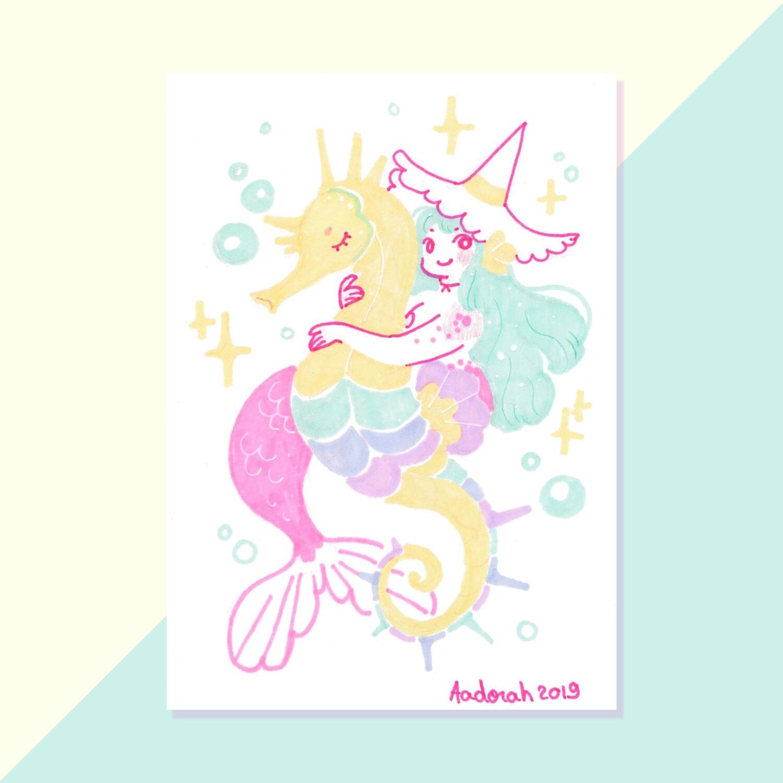 Tiny Witch - Seahorse