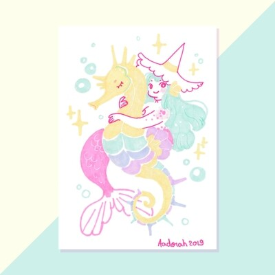 Tiny Witch - Seahorse