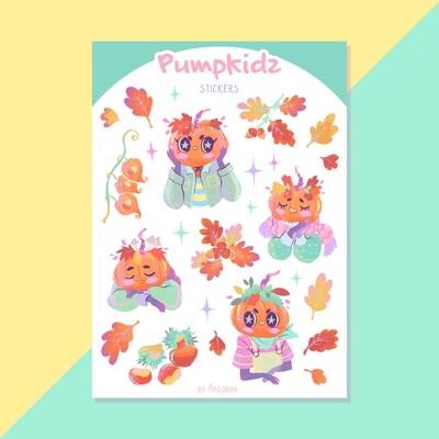 Pumpkidz Sticker sheet